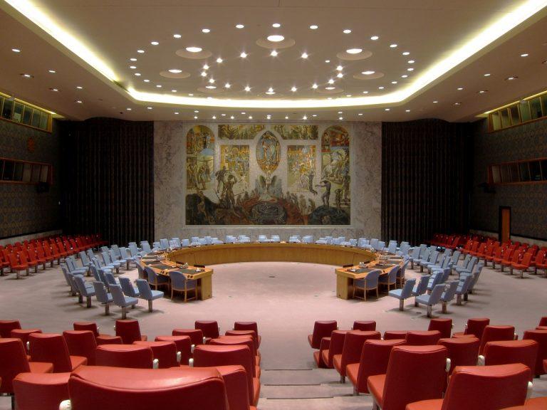 UN Sicherheitsrat UN Security Council New York City 2014 01 06