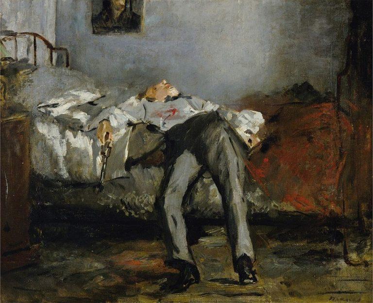 douard Manet Le Suicidé ca. 1877