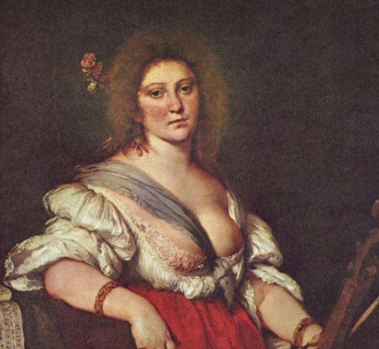 Painting of Hildegard of Bingen