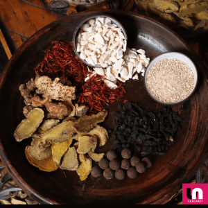 A selection of traditional Chinese medicine