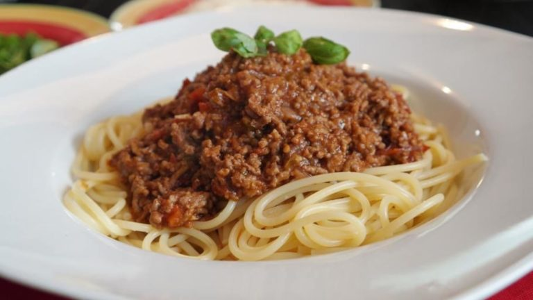 Bolognese with lentils