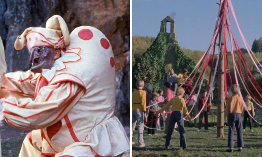 Can you name this May Day movie based on these two screenshots
