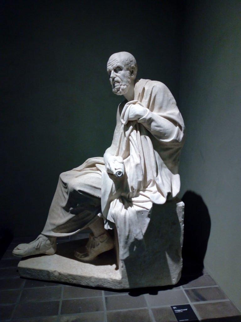 1 Seated Philosopher