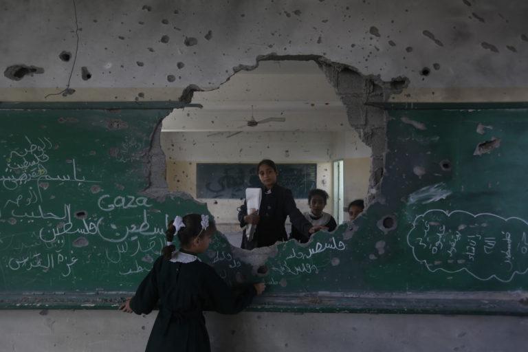 8 Gaza