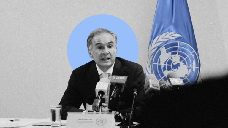 Who is Jean Arnault and what can he do about the Afghan peace talks