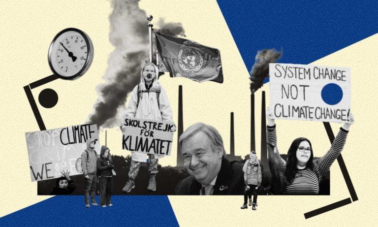 Unanimous verdict UN is failing to combat Climate Change