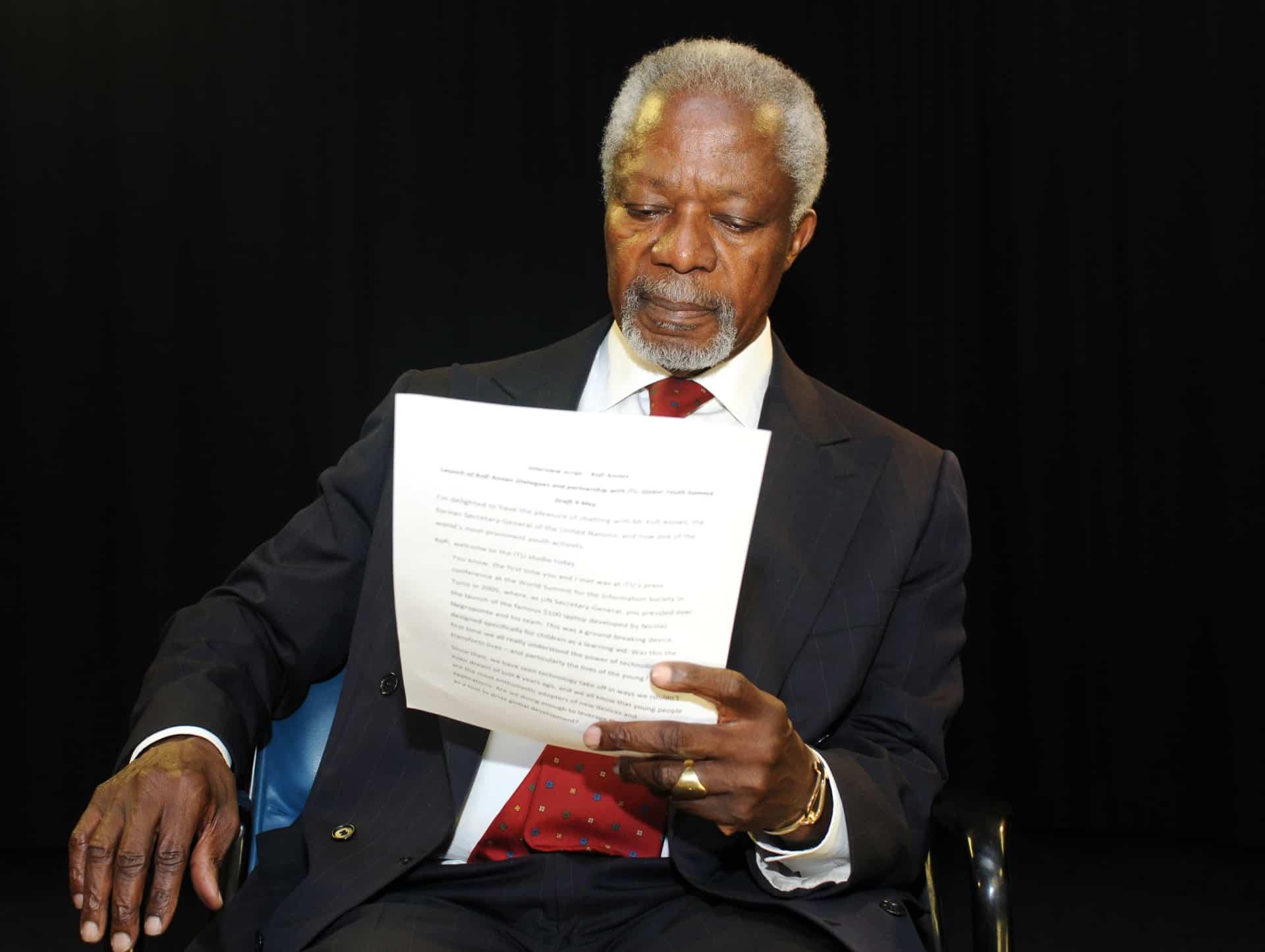 8 Kofi Annan