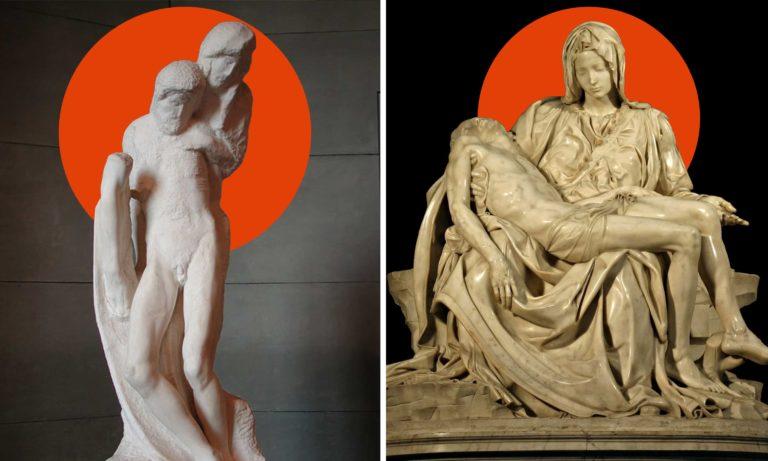 The Perfected Thought of Michelangelo The Vatican Pieta The Rondanini Pieta@0.5x